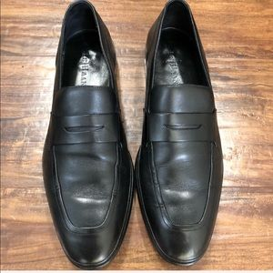Cole Haan Black Leather Nike Air Loafers